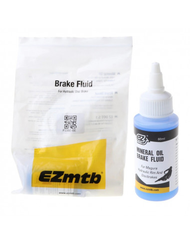 EZmtb Brake fluid Mineral Olja Blå 60ml