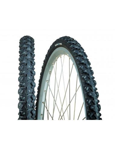 Suomi Tyres Dubbdäck W240 240 dubbar 32-62228x1 1/3 dubbdäck svart