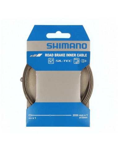 Bromsvajer Shimano Racer Rostfri 1st, PTFE, 1,6x2050mm