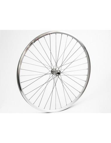 Hjul fram 622-19 db/silver fa
