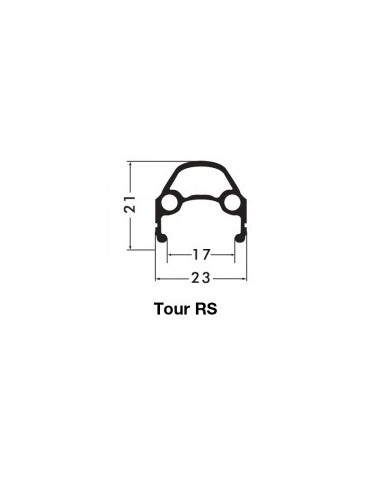 BAKHJUL 28 (622) 8/9 DELAD KASSETT TOUR RS 32H SV