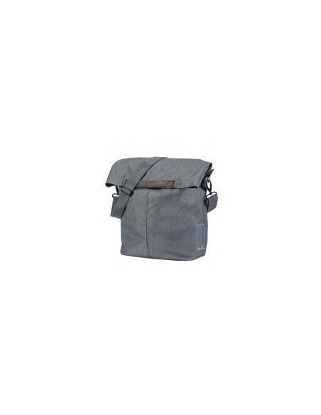 Basil Bicycle Bag City ShopperShopper Bag 14/16L Grey Melee