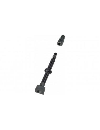 Ventil Bontrager Tubeless 55mm Svart 2-pack