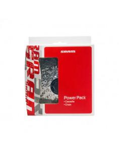 SRAM Power Pack PG-830 cassette/PC-830 chain 8 speed 11-28T