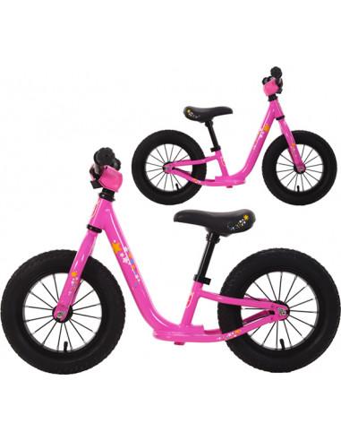 Balanscykel TWS 12 Rosa Aluminium