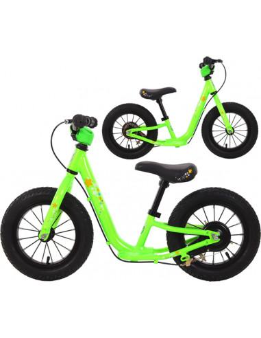 Balanscykel TWS 12 Lime Bakbroms