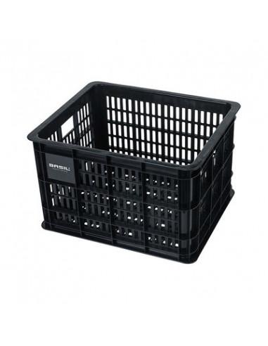 Plastback Basil Crate M 33L Black