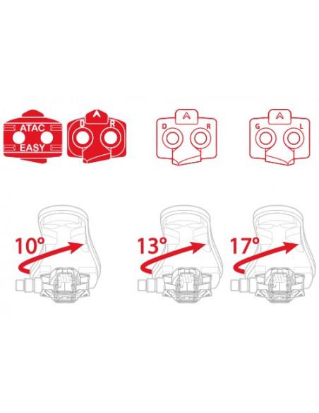 Pedaler TIME MTB atac xc 4, Time 9/16 axel inkl klossar vikt:145 g