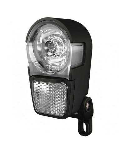 Framlampa, Herrmans Hike LED diod, inkl batterier svart
