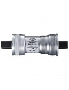 Vevlager BB-UN55 fyrkant BSA, 113 mm axel, 68 mm hylsa