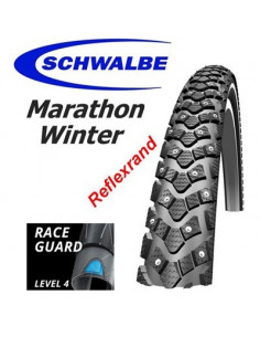 DÄCK SCHWALBE MarathonWinter 20x1.55 42-406 Sv/Reflex 168dubb