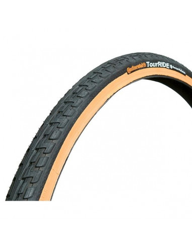 Däck Continental TourRide 26x1 3/8x 1 1/2 svart/vit 37-584 mm