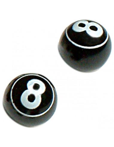 OXC Ventilhatt Par, Svart, 8 Ball