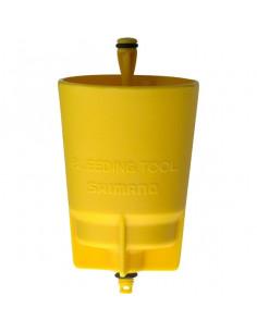 Luftningsverktyg Shimano M575/445 etc, Gul kopp för bromshandtaget