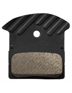 Skivbromsbelägg XTR J04C, Metall, BR-M9000/9020/987/985/
