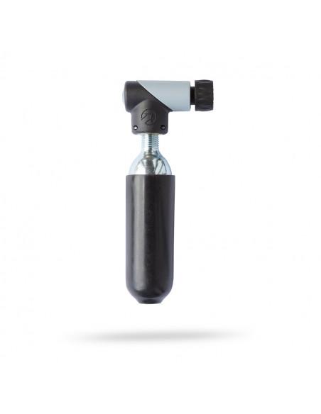 Pump Micro CO2 Inflator Alu/plast racer/bilventil