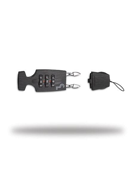 Lazer Cappuccino Lock, svart