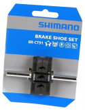 Bromskloss Shimano Altus cantilever, 1 par, 50 mm