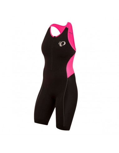 Triathlondräkt Elite Pursuit, Dam black/screaming pink M