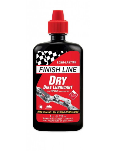 Olja Finish Line Dry (Teflon plus) 120ml flaska