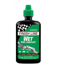 Olja Finish Line Wet (Cross country) 120ml flaska - grön