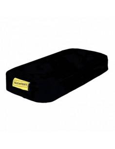 Kudde för pakethållare 32x15x5 cm, svart