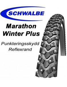 DUBBDÄCK SCHWALBE MarathonWinter 28x2.0, 50-622 Reflex 208 Dubbar