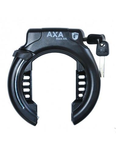 Ringlås AXA Block XXL Svart