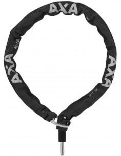 Kättinglås plug-in extragrovt, Axa 8 mm 110 cm lång för solid ringlås, Svart,